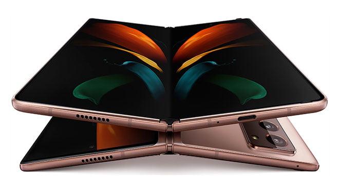 Samsung anunció su nuevo teléfono plegable Galaxy Z Fold 2 precio specificatiomns características fotos