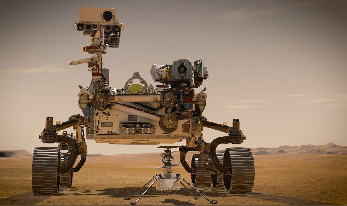 Perseverance envía sus primeras fotos desde Marte: La superficie marciana en color y alta resolución