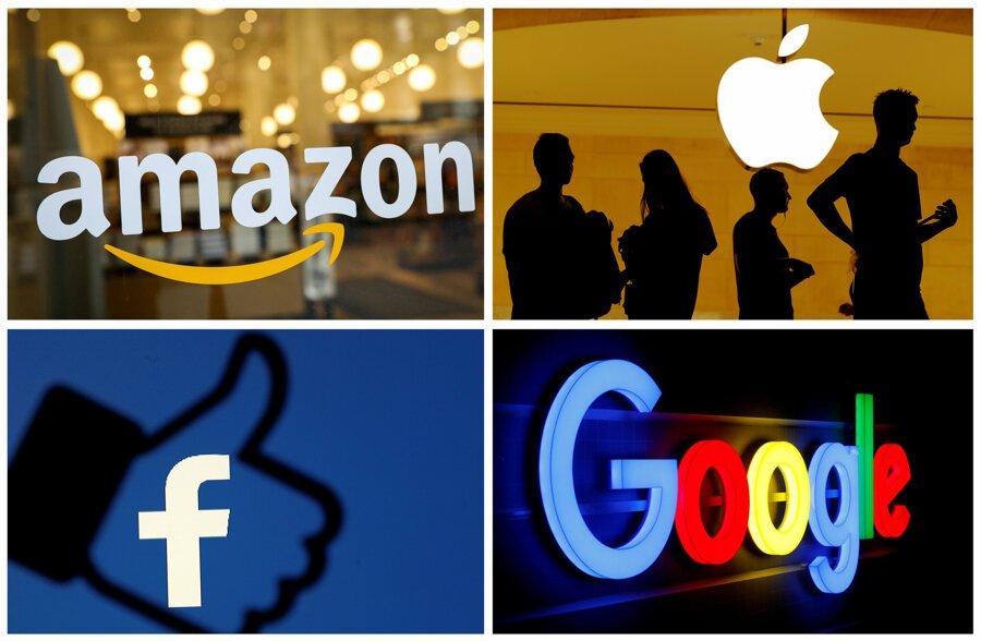 Google, Apple, Amazon y Facebook están invitados a hablar sobre sus prácticas en la Unión Europea