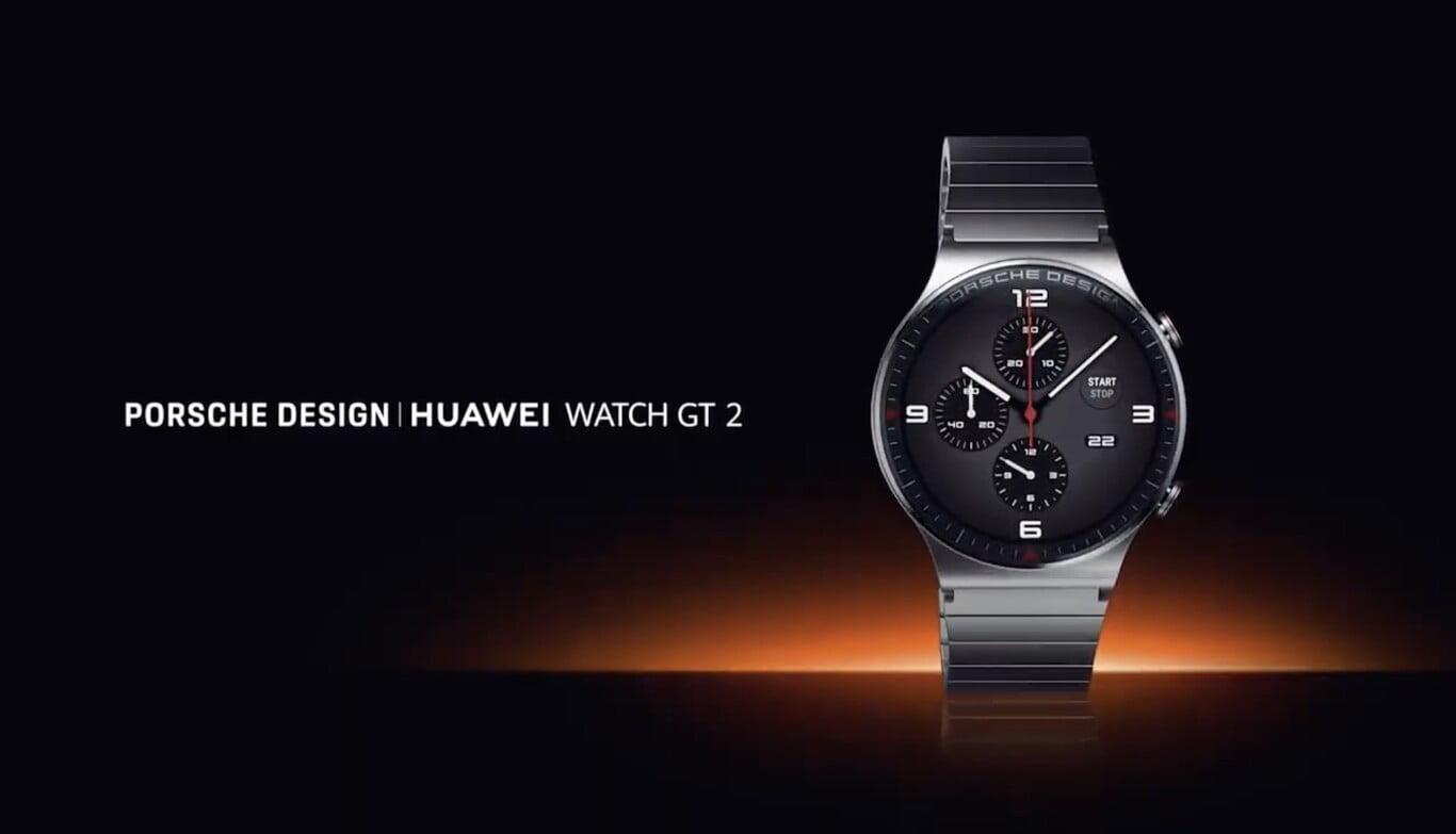 Huawei Watch GT 2 Porsche Design: especificaciones, precio y fecha de lanzamiento
