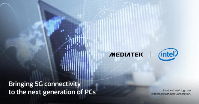 Intel y Mediatek prometen portátiles 5G en 2021