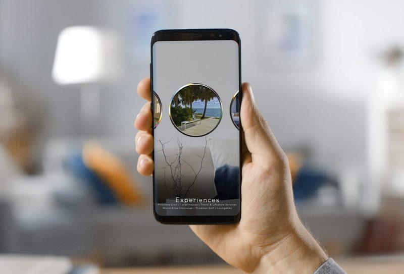 Mastercard lanza una aplicación de realidad aumentada para titulares de tarjetas