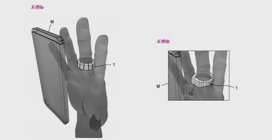 Samsung patenta un anillo que puede cargar teléfonos inteligentes